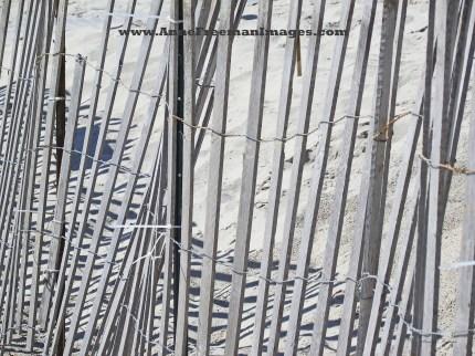 """Beach Fence"" - Copyright Anne M. Freeman"
